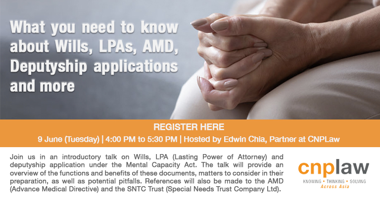 What you need to know about  Wills, LPAs, AMD, Deputyship Applications and more