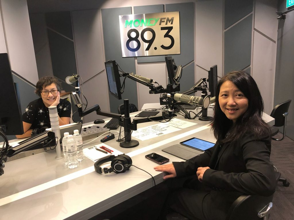 Money FM 89.3 host managing partner Lisa Theng on radio show Prime Time with Claressa Monteiro