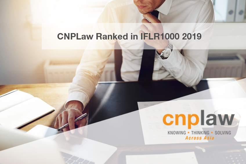 CNPLaw Ranked in IFLR 2019
