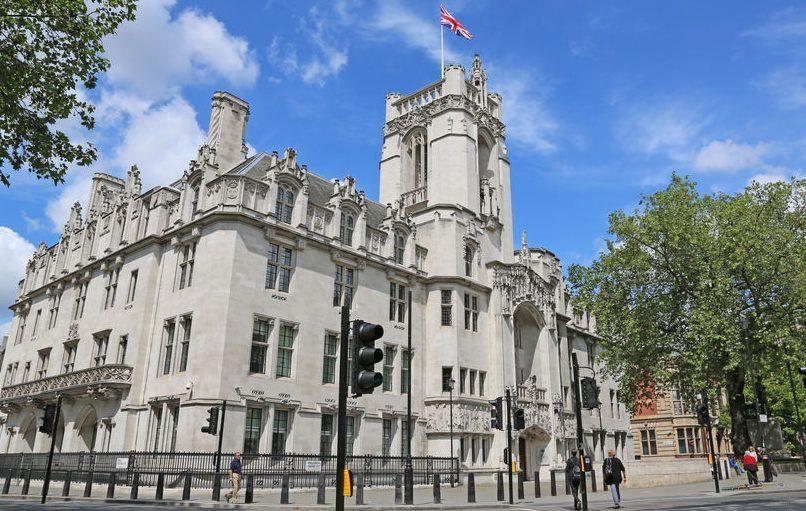 A photo of UK supreme court