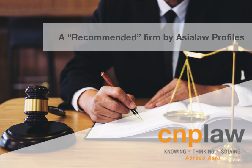 A recommended firm by Asialaw Profiles