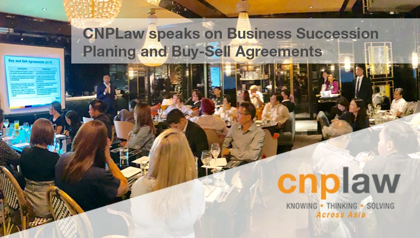 CNPLaw speaks on Business Succession Planning and Buy-Sell Agreements