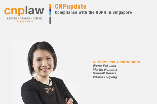 Compliance with the GDPR in Singapore