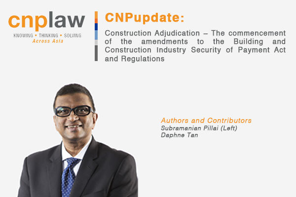 Construction Adjudication – The commencement of the amendments to the Building and Construction Industry Security of Payment Act and Regulations