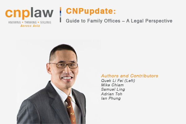 Guide to Family Offices – A Legal Perspective