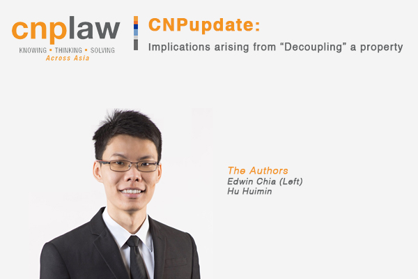 "Implications arising from ""Decoupling"" a property"