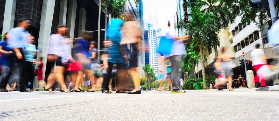 Singapore rush hour