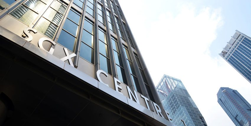 A photo of Singapore SGX Centre