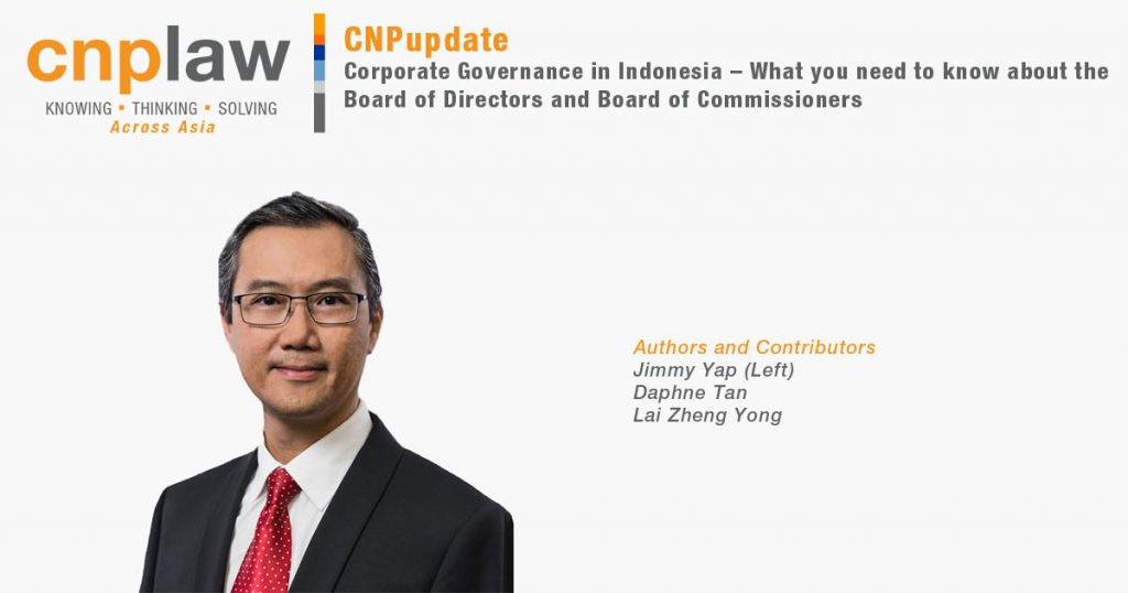 Corporate Governance in Indonesia – What you need to know about the Board of Directors and Board of Commissioners v2