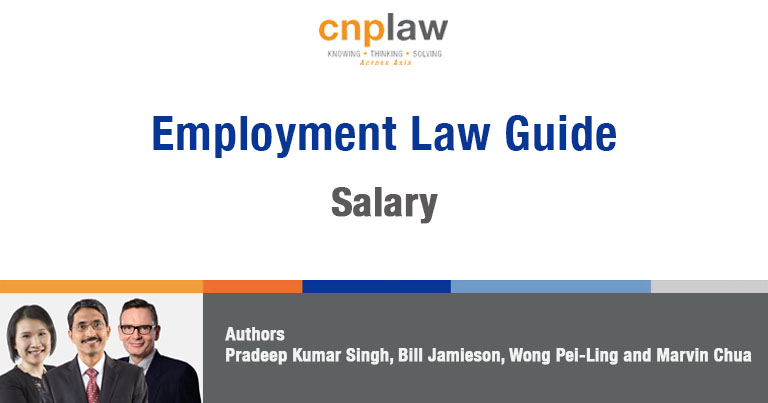 Employment Law Guide Salary