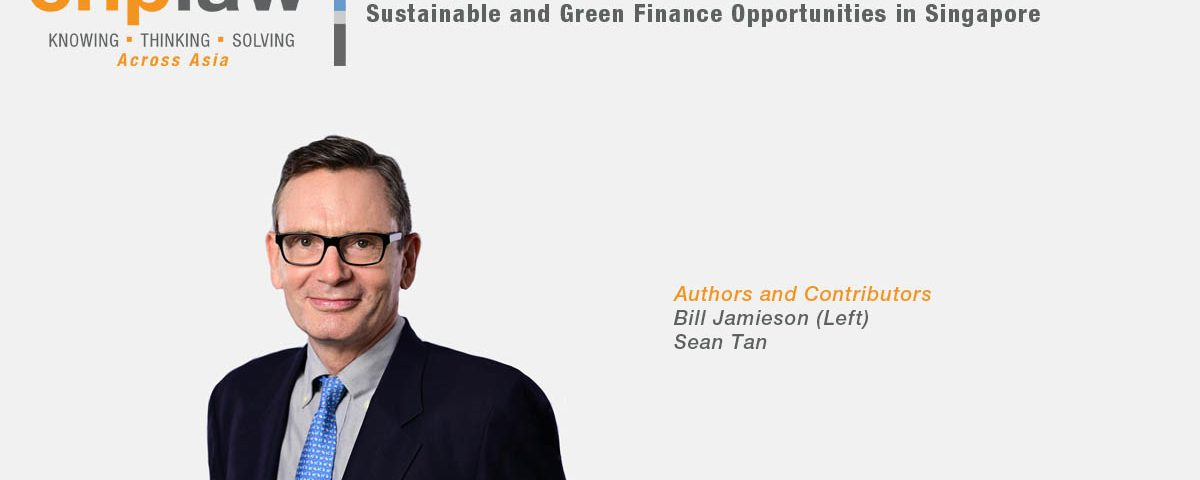 Sustainable and Green Finance Opportunities in Singapore v2