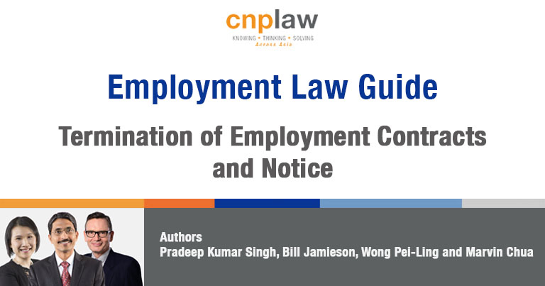 Termination of Employment Contracts and Notice