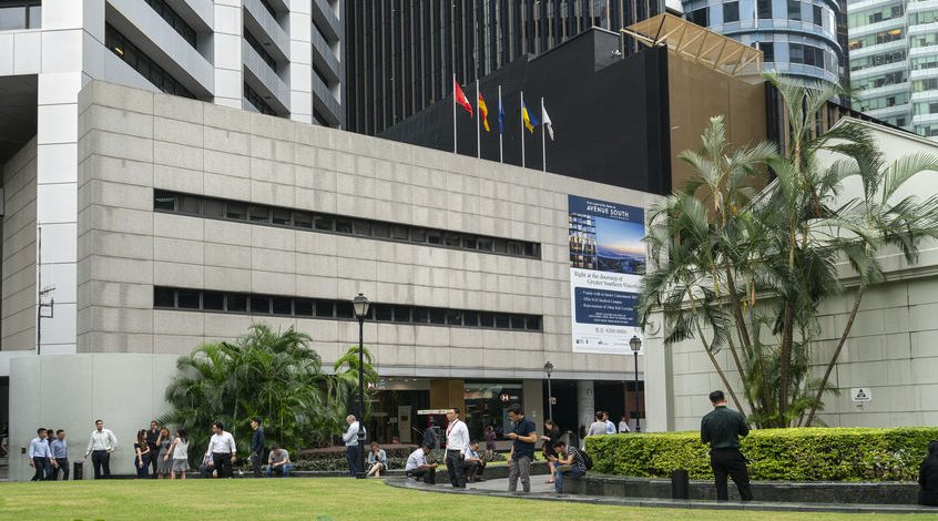 A photo of Singapore Raffles Place