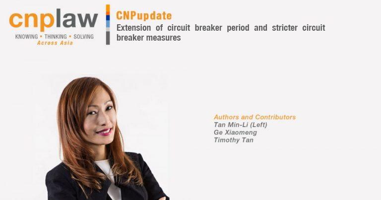 Extension of circuit breaker period and stricter circuit breaker measures