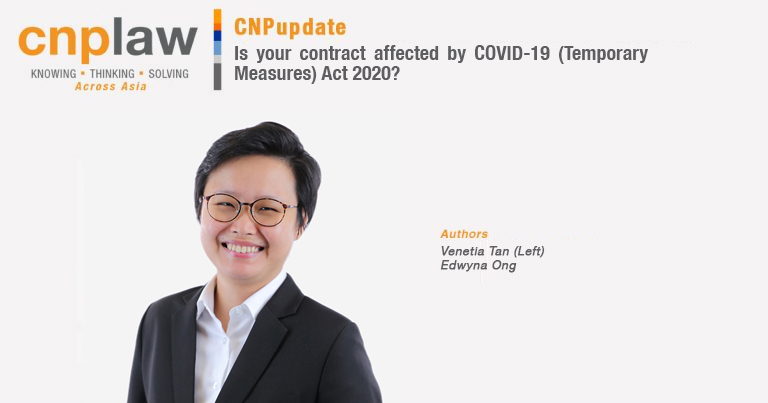 Is your contract affected by COVID-19 (Temporary Measures) Act 2020? (1)