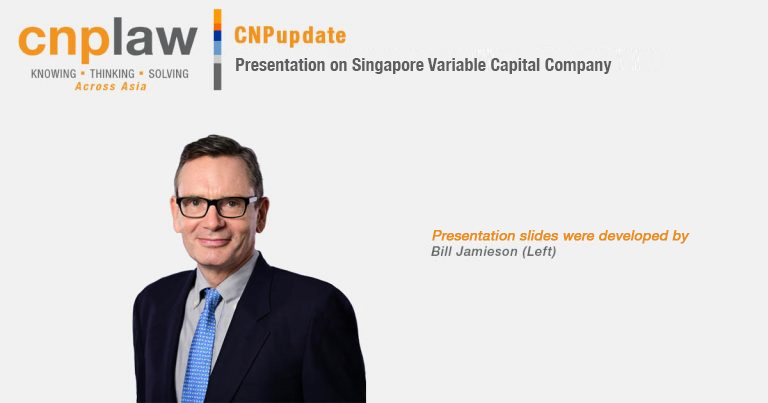 Presentation on Singapore Variable Capital Company