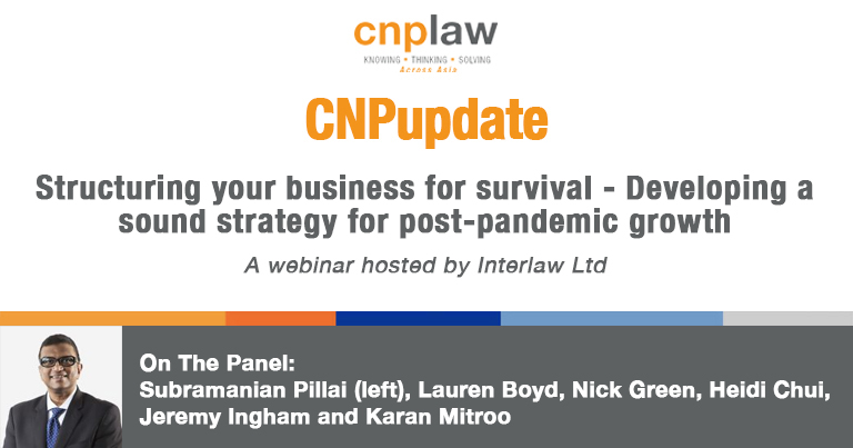Structuring your business for survival - Developing a sound strategy for post-pandemic growth