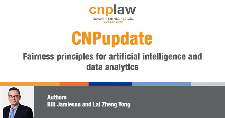 Fairness principles for artificial intelligence and data analytics