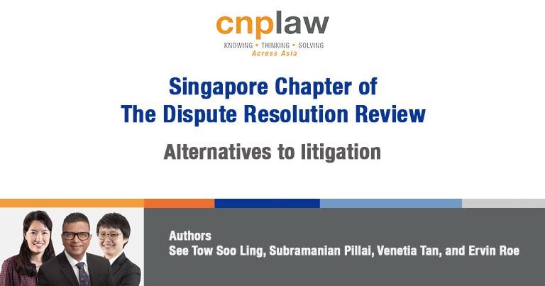 Alternatives to litigation