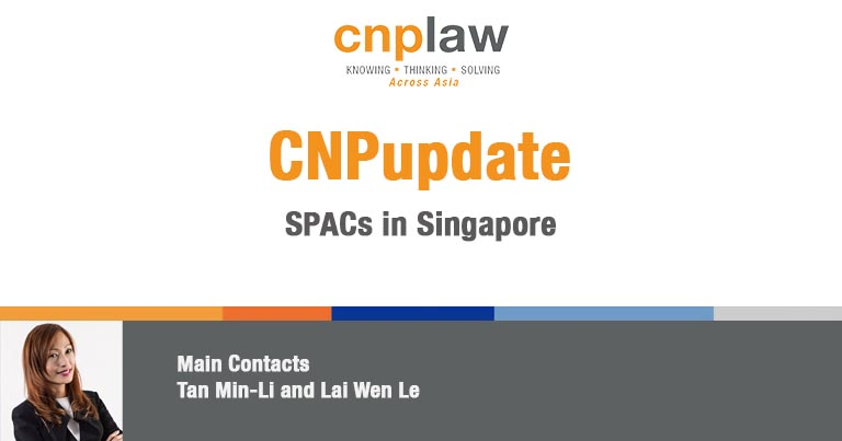 SPACs in Singapore