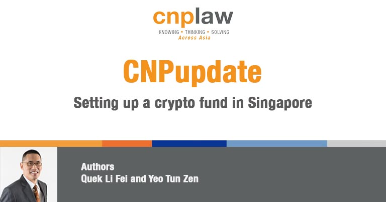 Setting up a Crypto Fund in Singapore