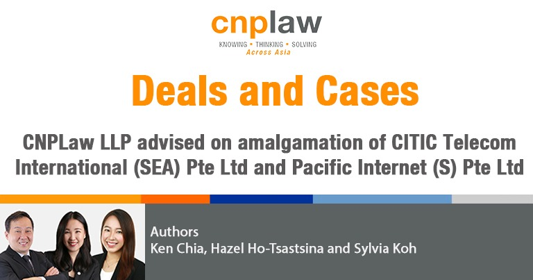 CNPLaw advised on CITIC